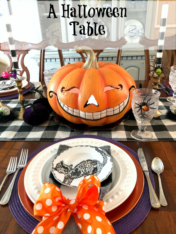 A Halloween Table