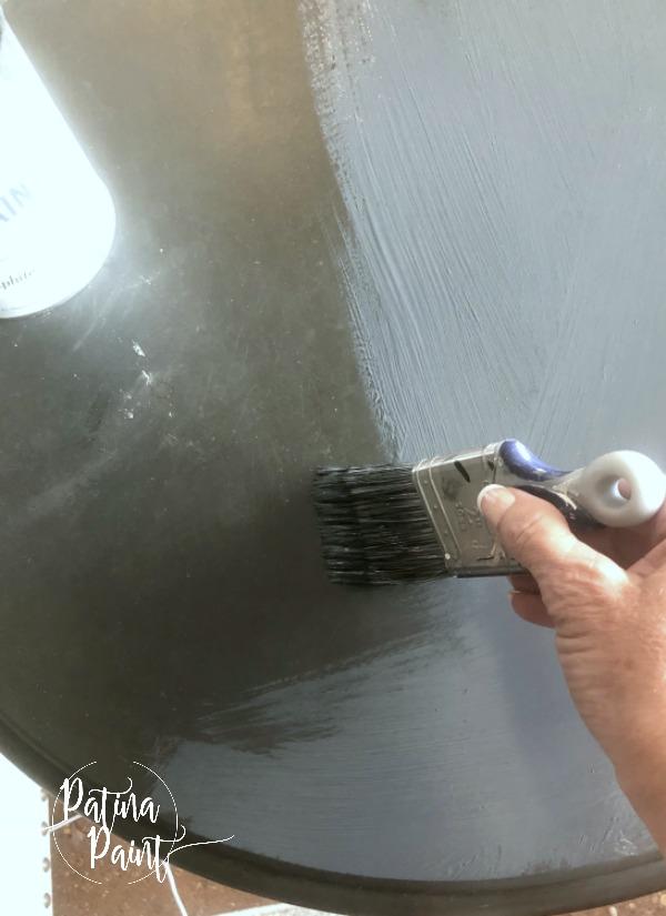 applying hemp oil