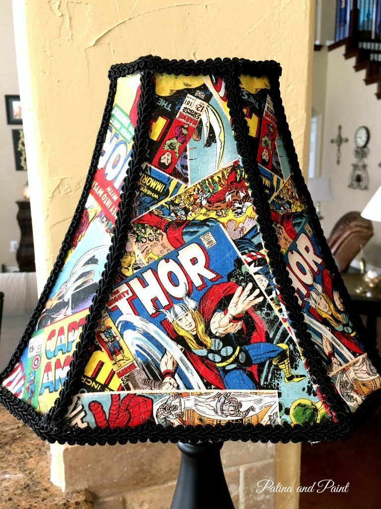 Avengers lamp 4