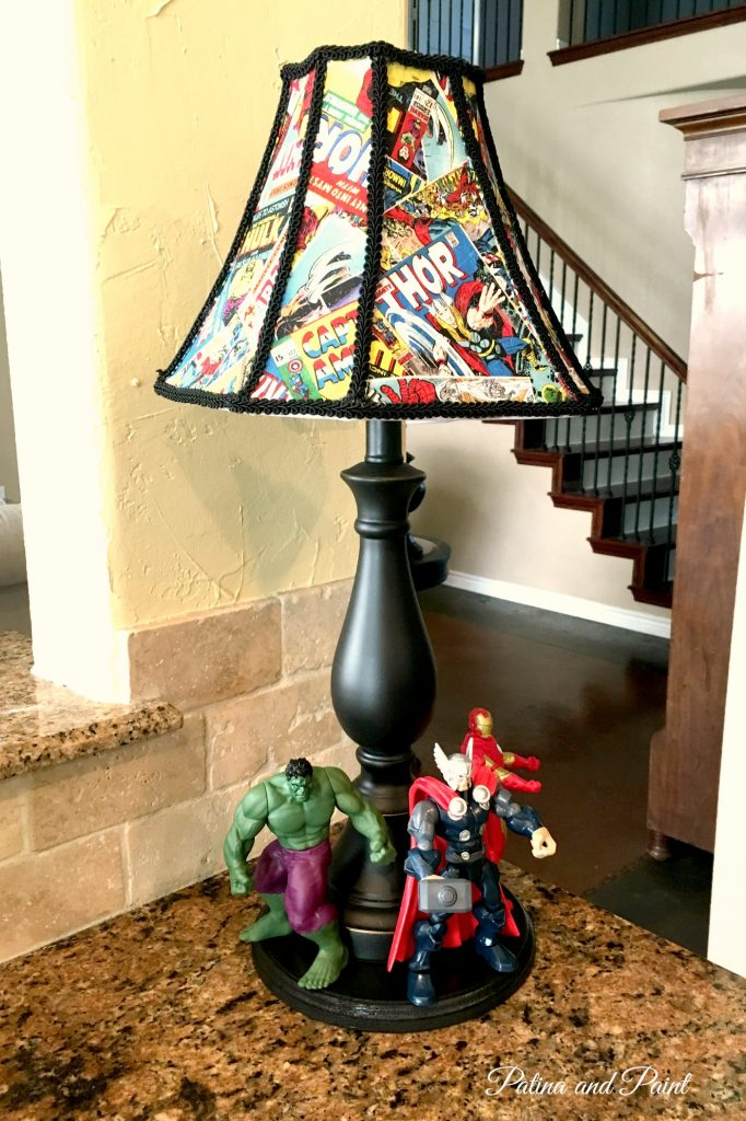 Avengers lamp 7
