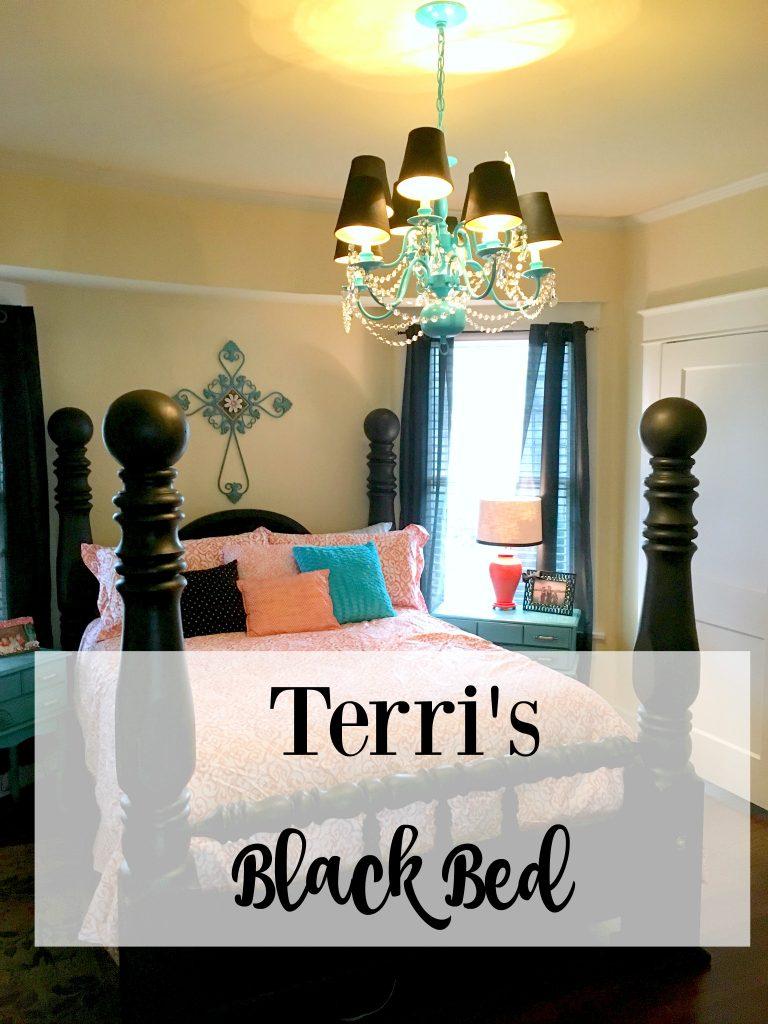 Black bed 13