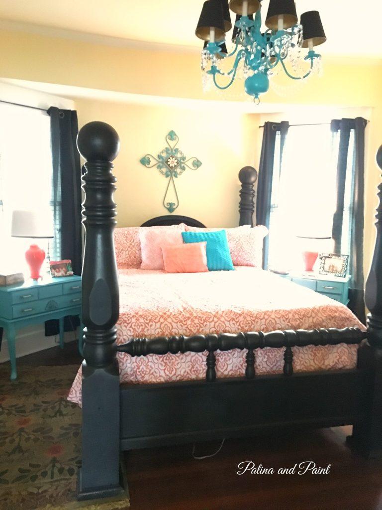 Black bed 8