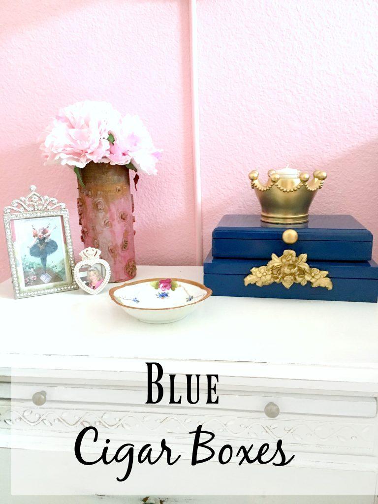 Blue Cigar Boxes 13