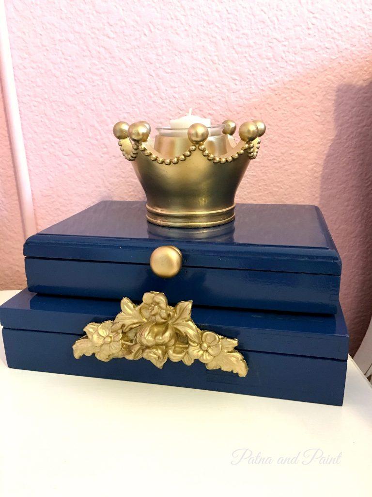 Blue Cigar Boxes 2