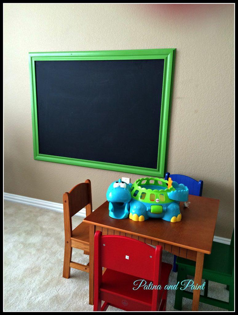 Chalkboard finished