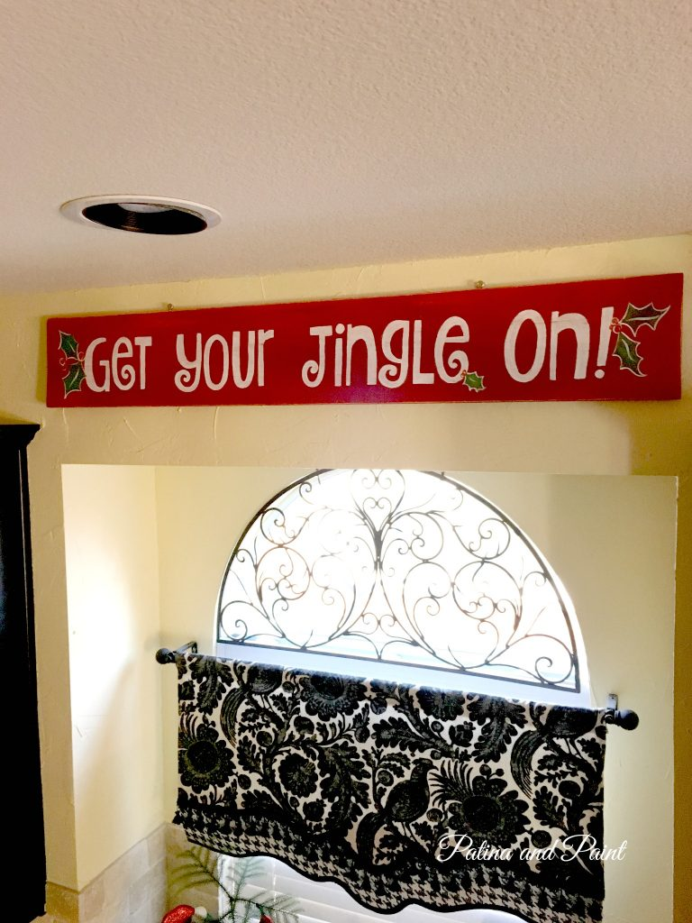 Christmas Kitchen sign 9