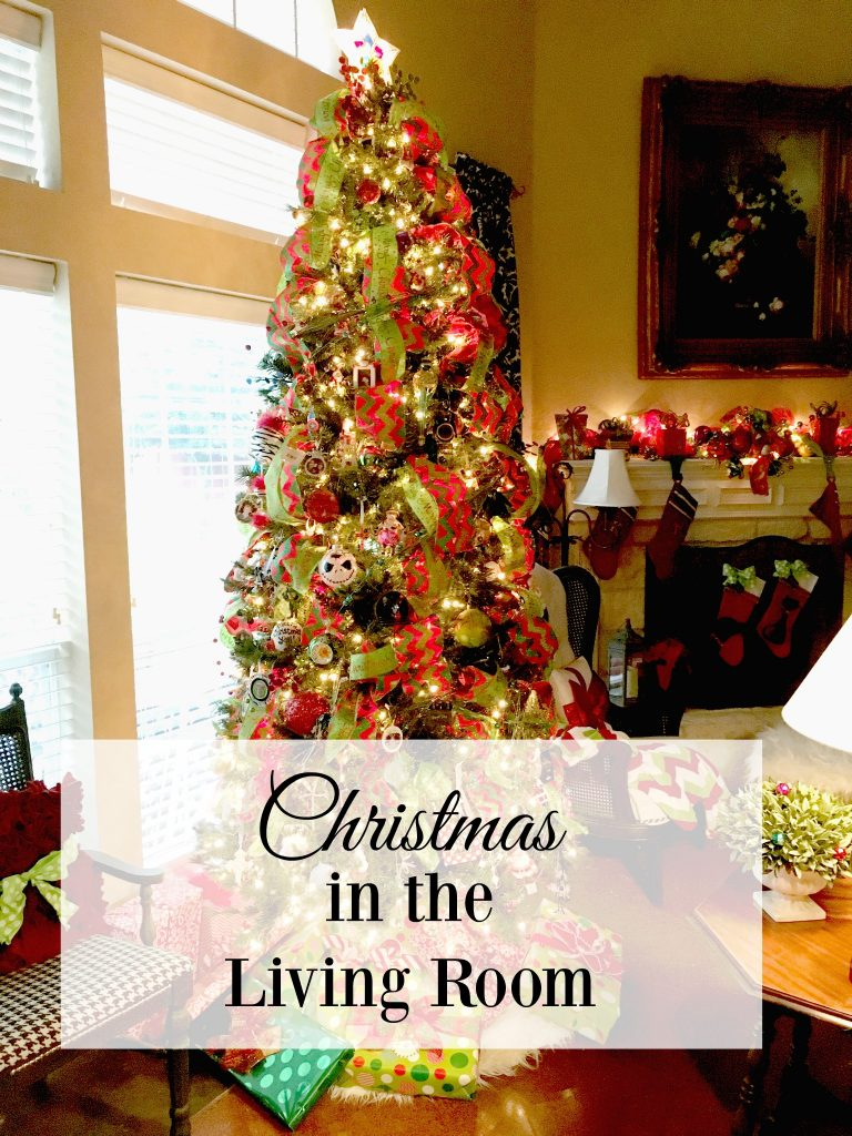 Christmas in the living room patina and paint for Living room sessions christmas
