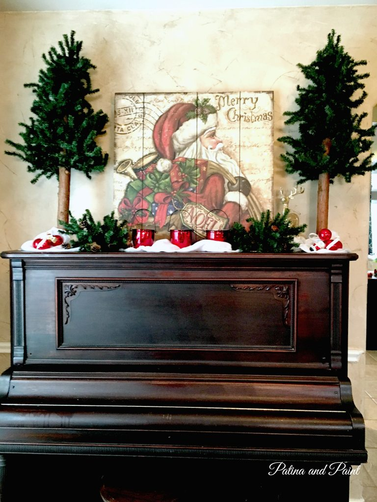 Christmas in the dining room 1