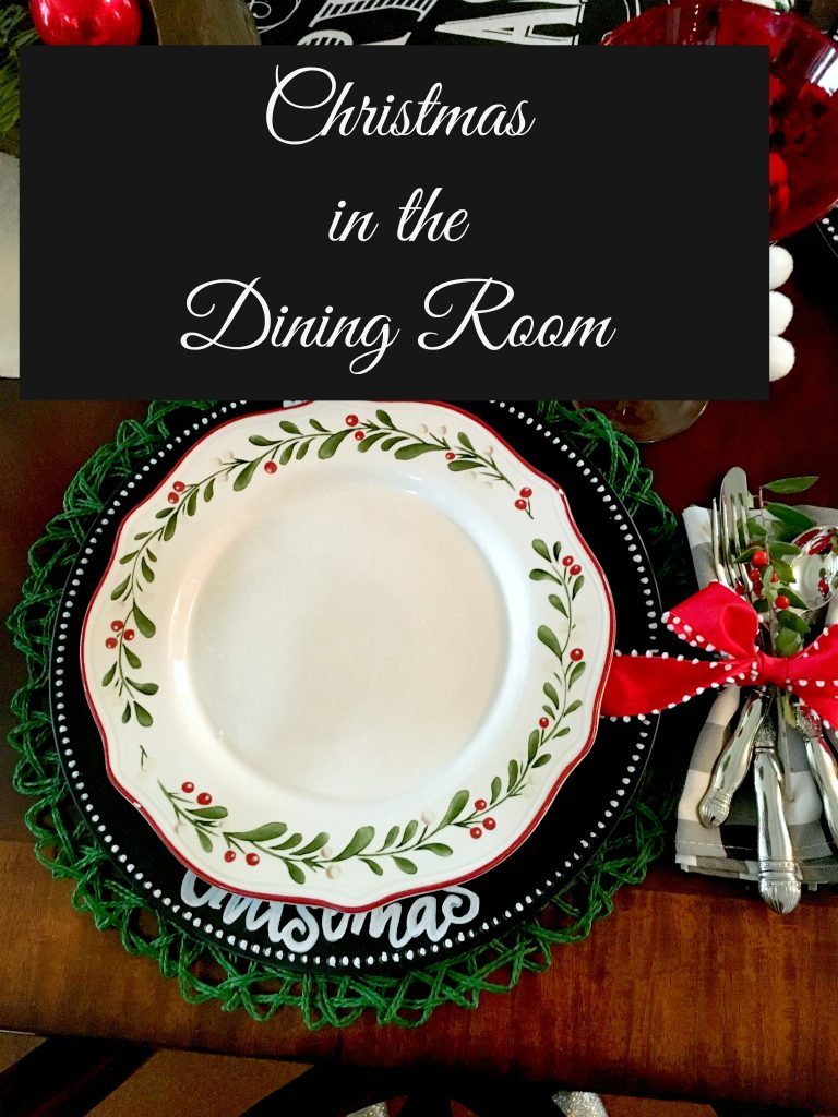 Christmas in the dining room 10
