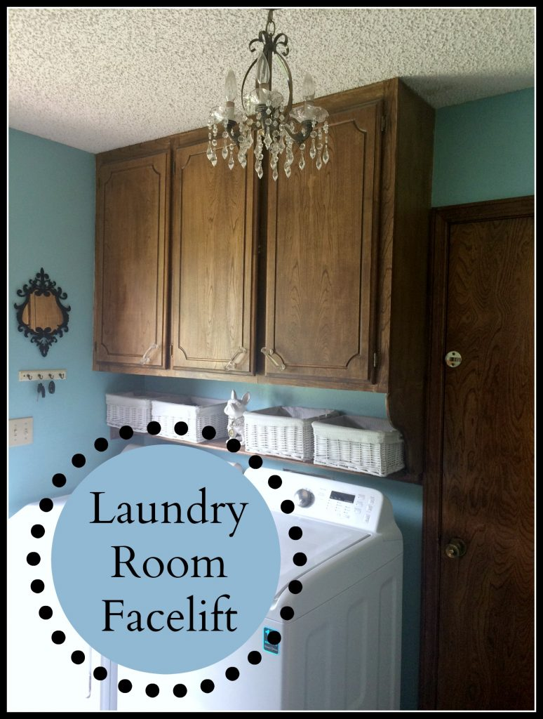 laundry room facelift