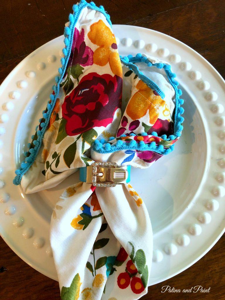 napkin and napkin ring
