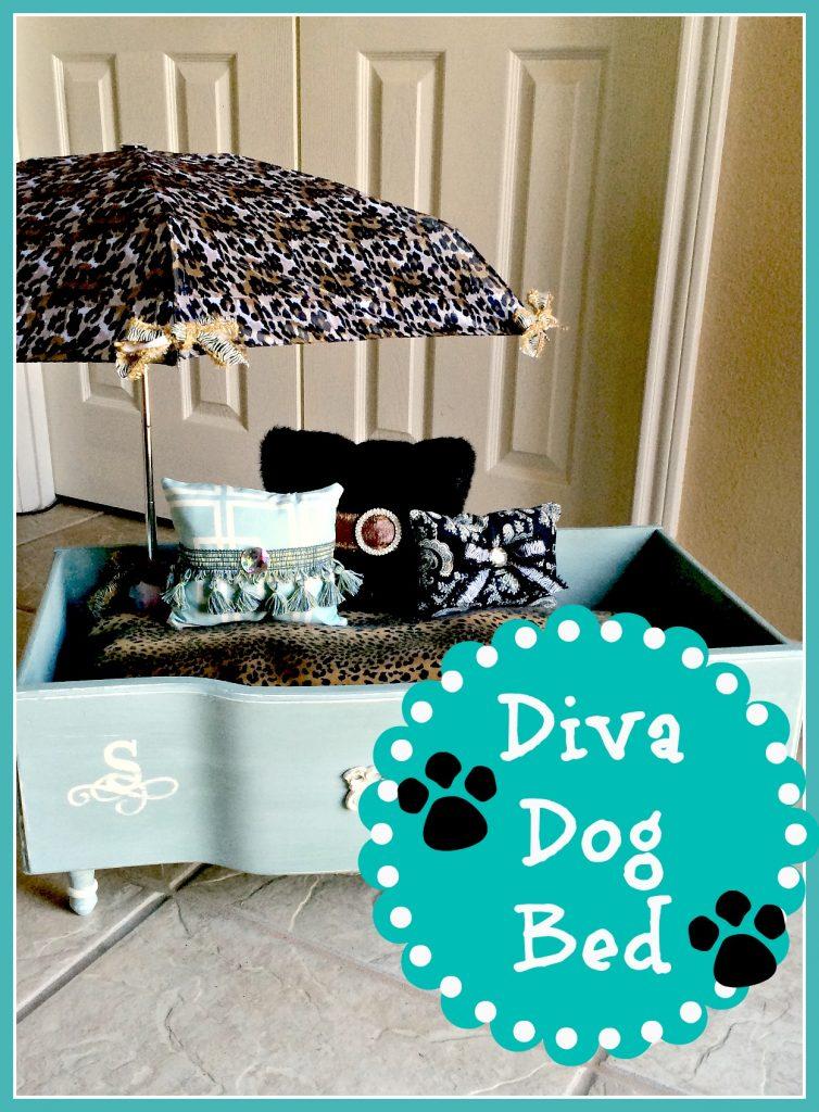 Diva Dog bed 22