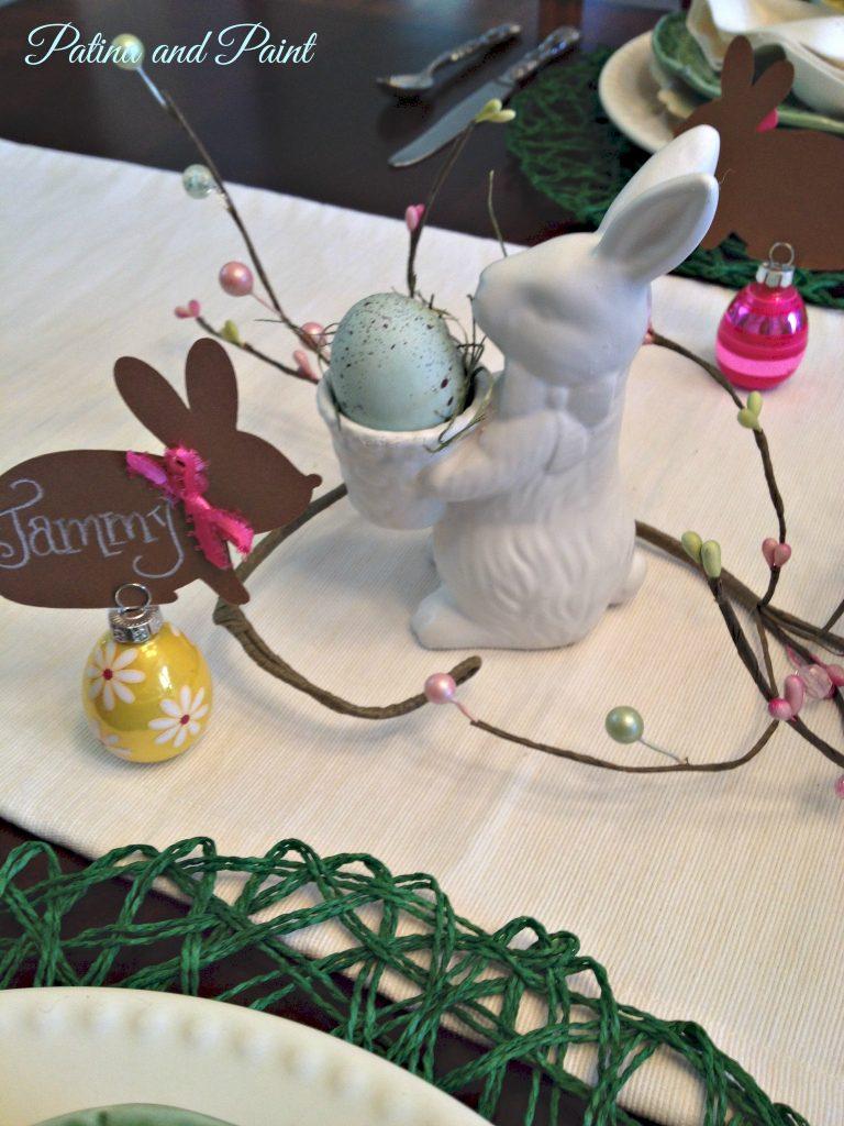 Egg holder bunny
