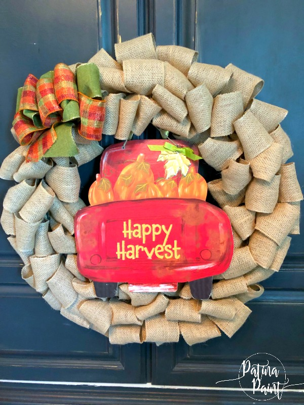 Happy Harvest wreath