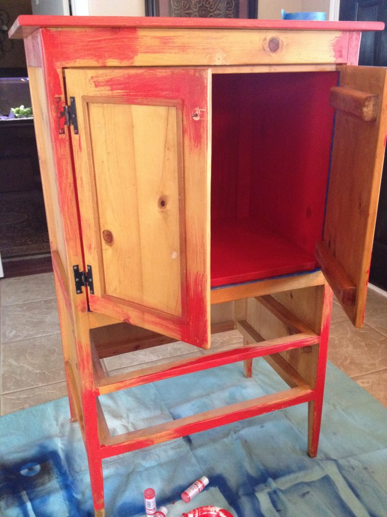 Feature Friday Another Turquoise And Red Hutch Patina
