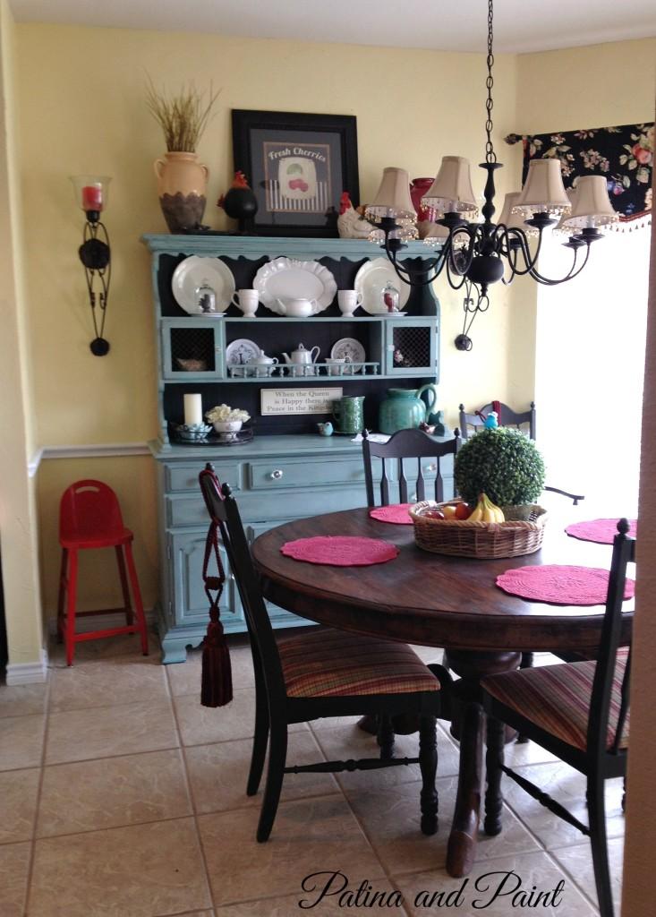Kitchen nook before