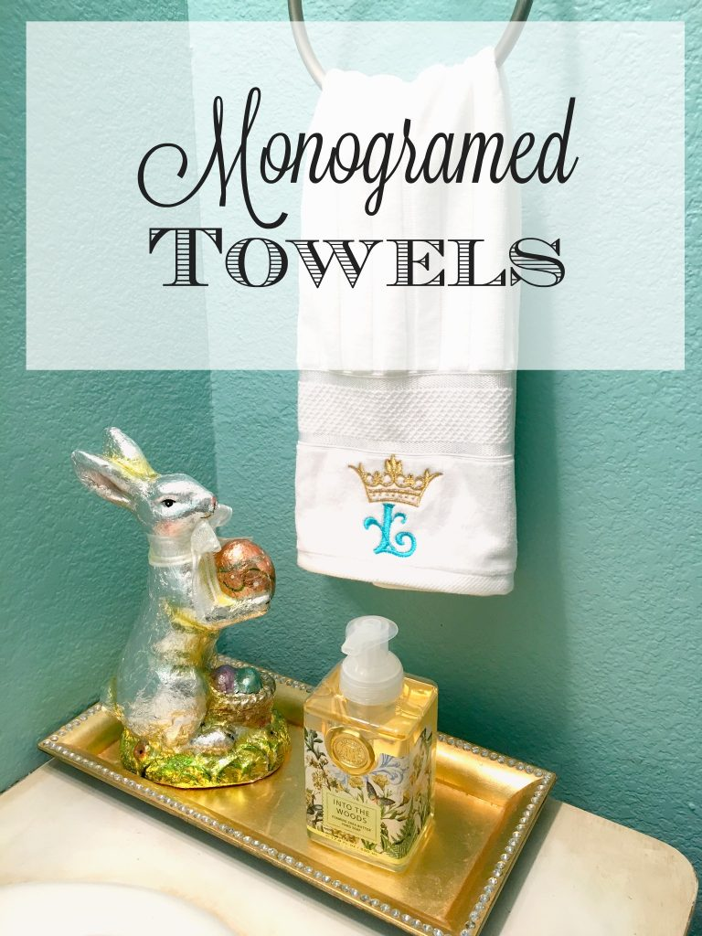 Monogramed Towels 6
