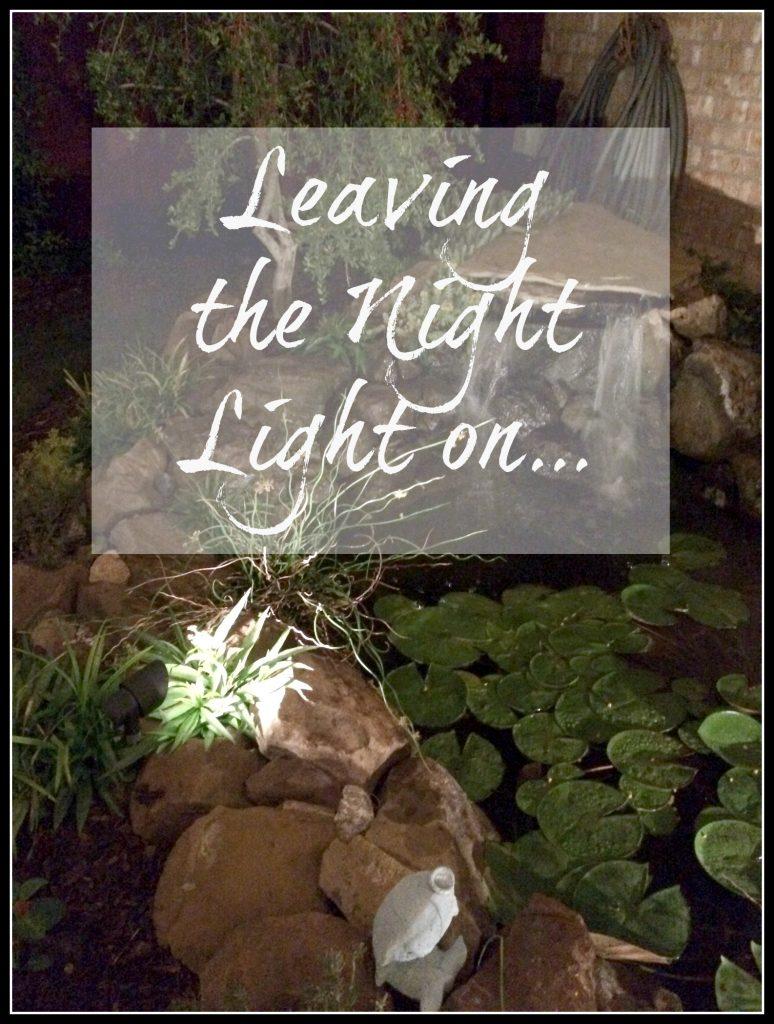 Night light on