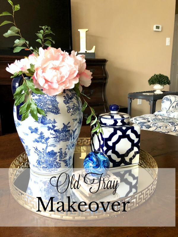 Old Tray makeover
