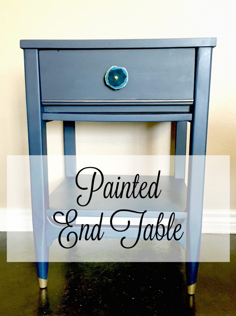 Painted End Table 8