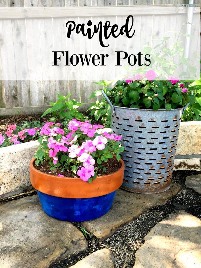 Painted pots 11