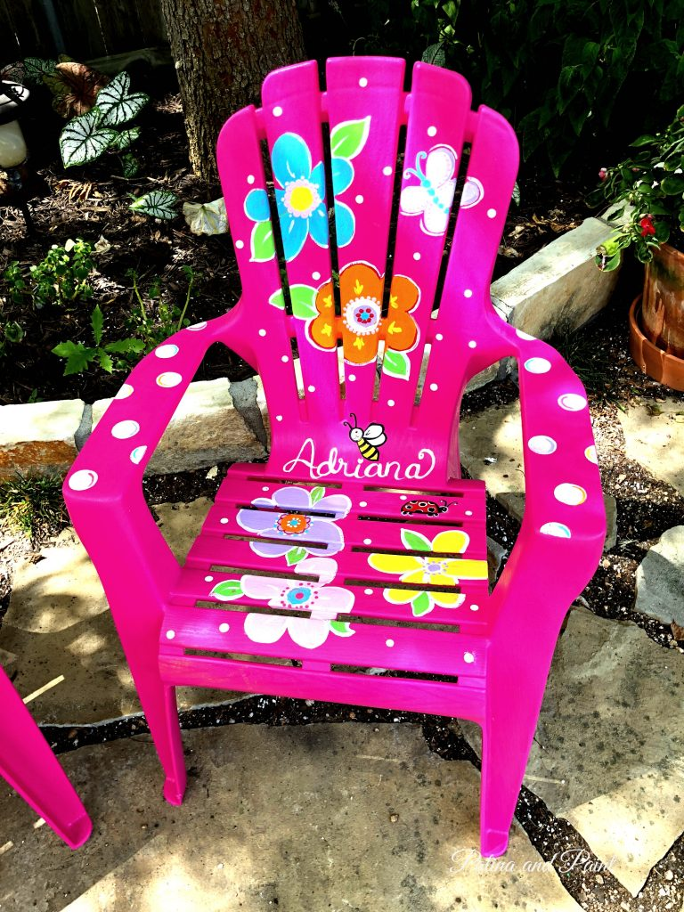 Beeps Adirondack chair