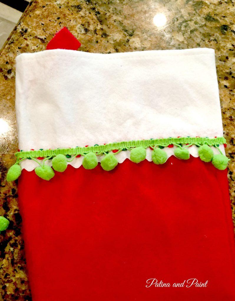 DIY Christmas Friday #3 Pet Christmas Stockings 9