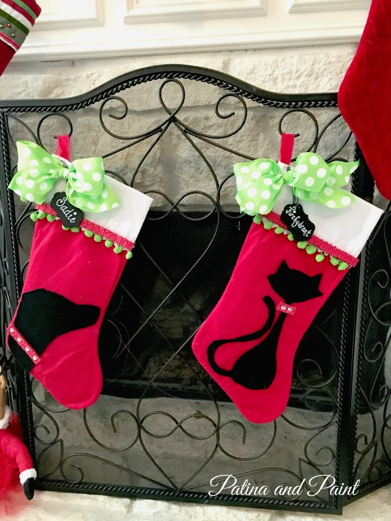 DIY Christmas Friday #3 Pet Christmas stockings 1