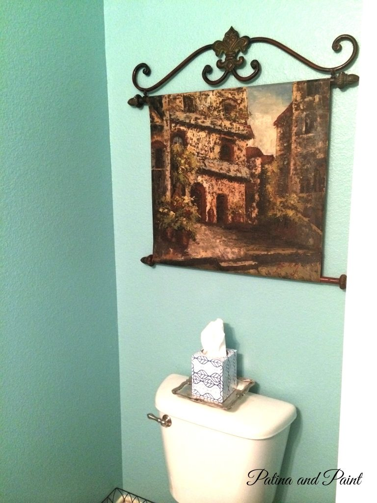Powder room now 4