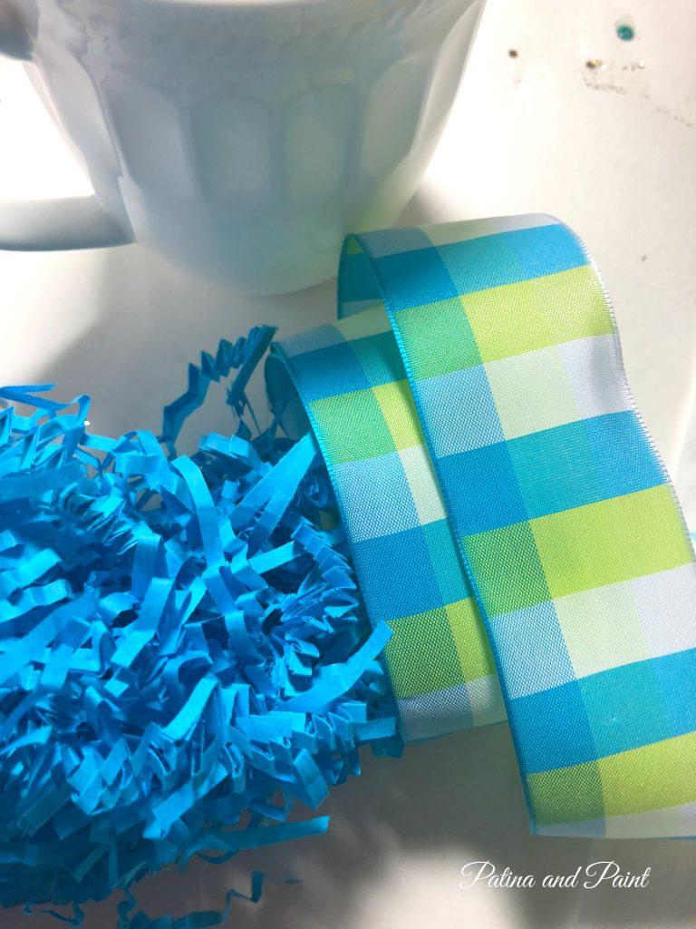 ribbon and mug