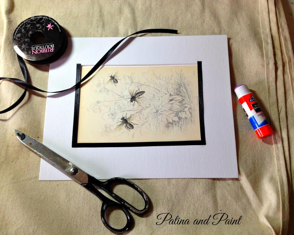 Ribbon and Bee pic