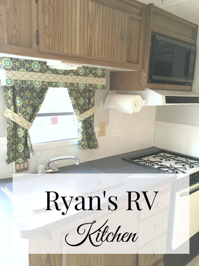 Ryan S Rv Kitchen Patina And Paint