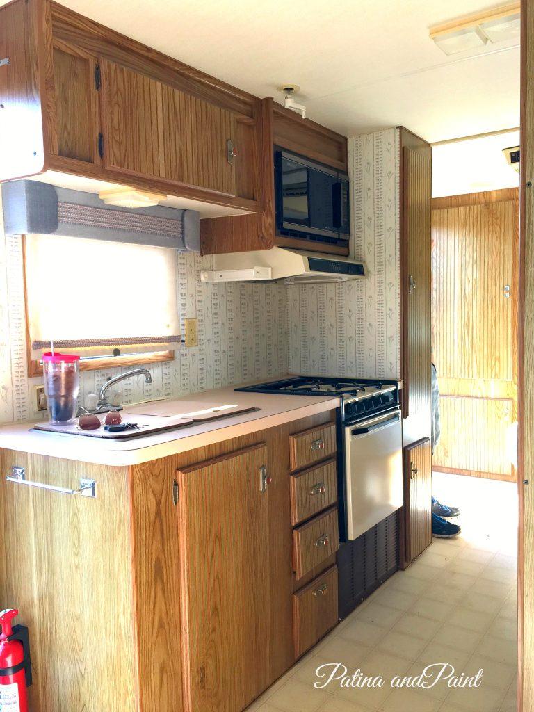 Ryan's RV kitchen