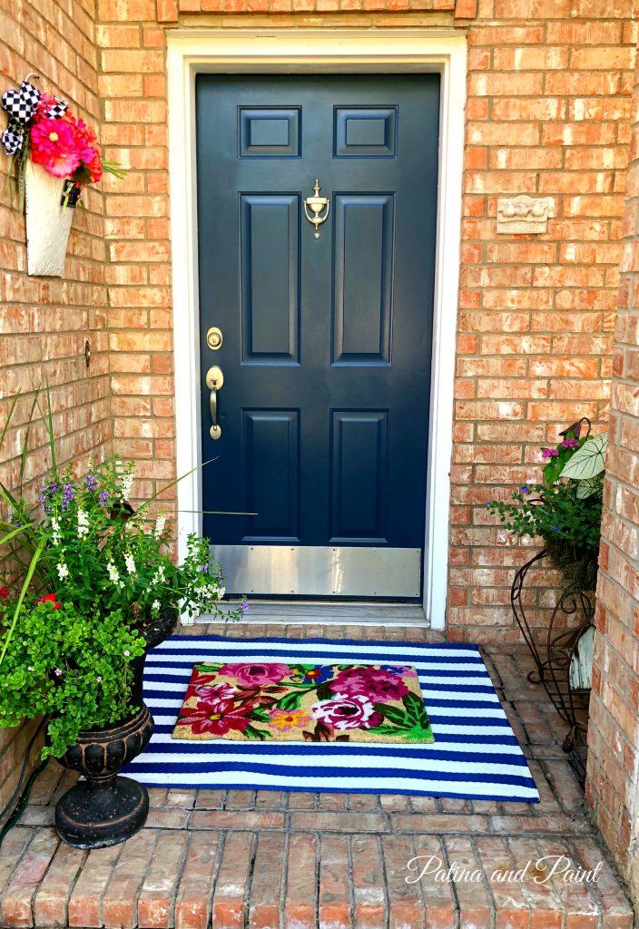 summer front porch rug