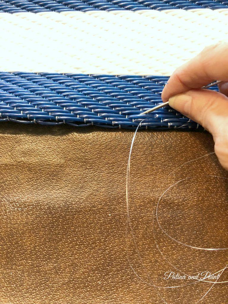 rug and needle