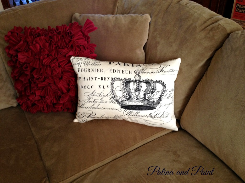 The queens pillow