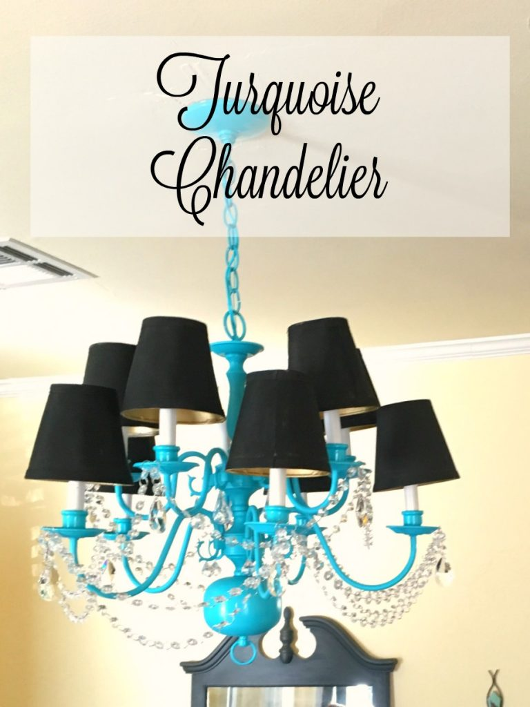 Turquoise Chandelier 10