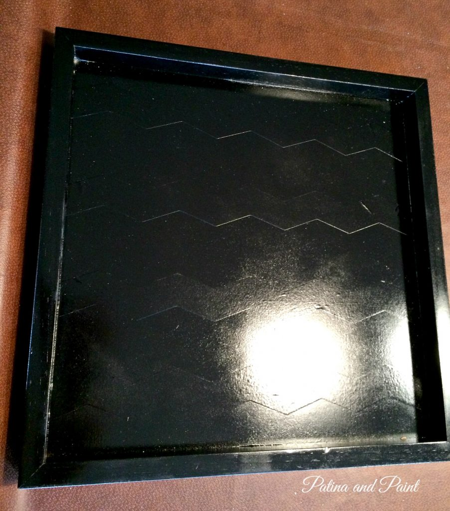 black and gold tray 4