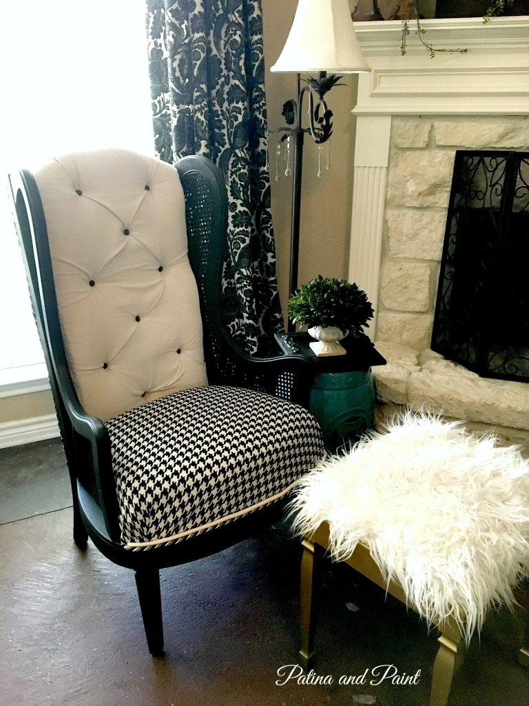 black and white chair 3