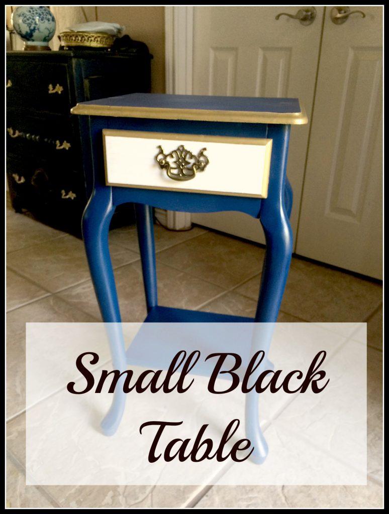 black table 10