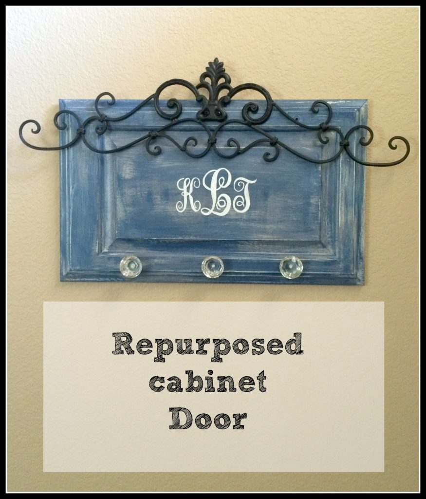 Repurposed Cabinet Door Patina And Paint