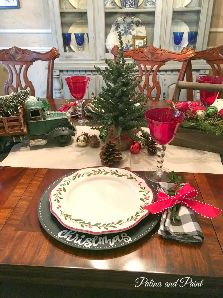 christmas in the dining room 7