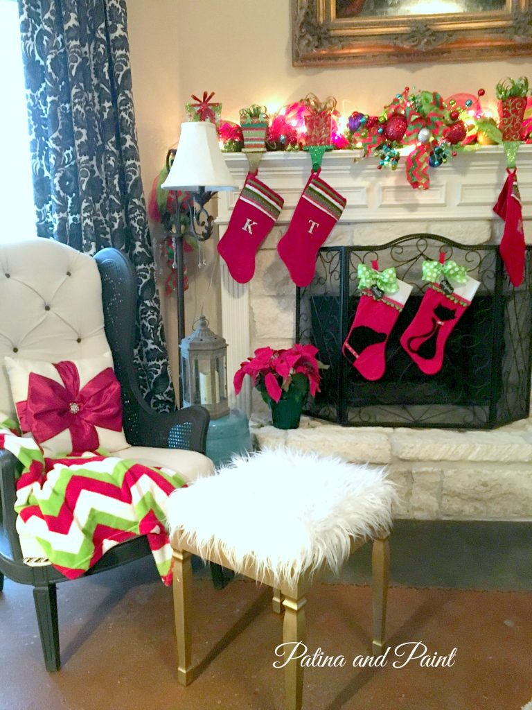 christmas in the living room 8