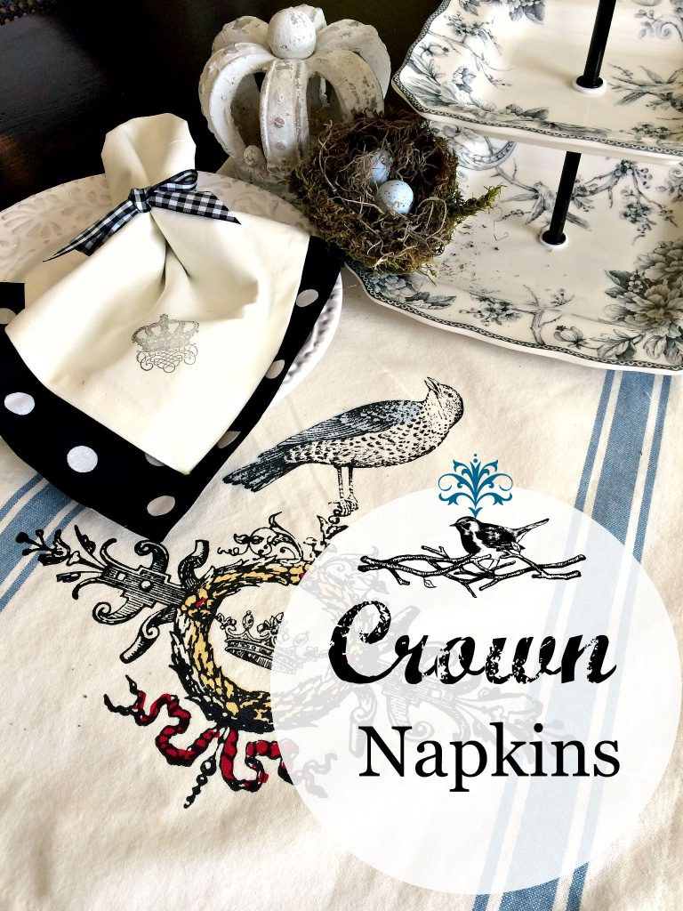 crown napkins 9