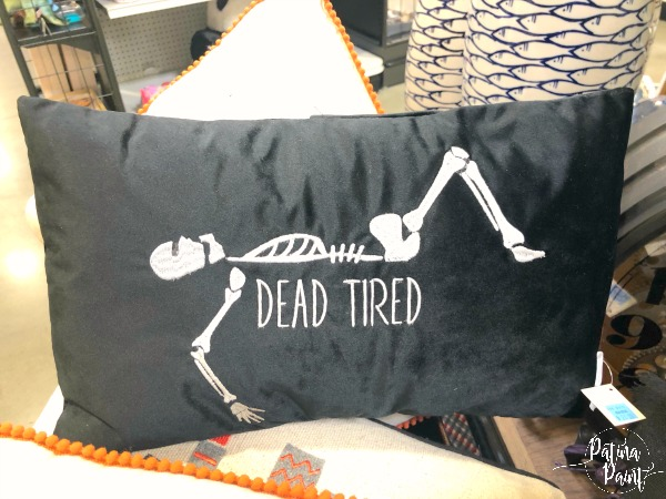 skeleton pillow