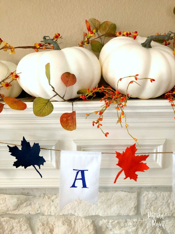 a simple fall mantle