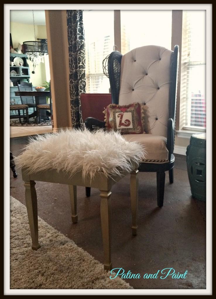 furry stool 2