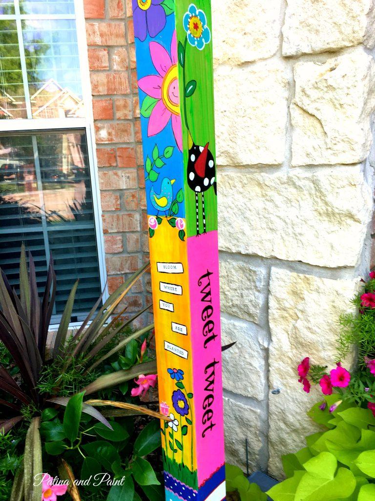 garden pole 1