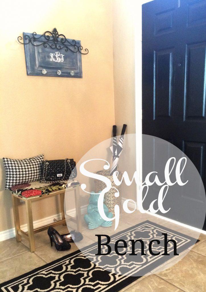 gold bench 6