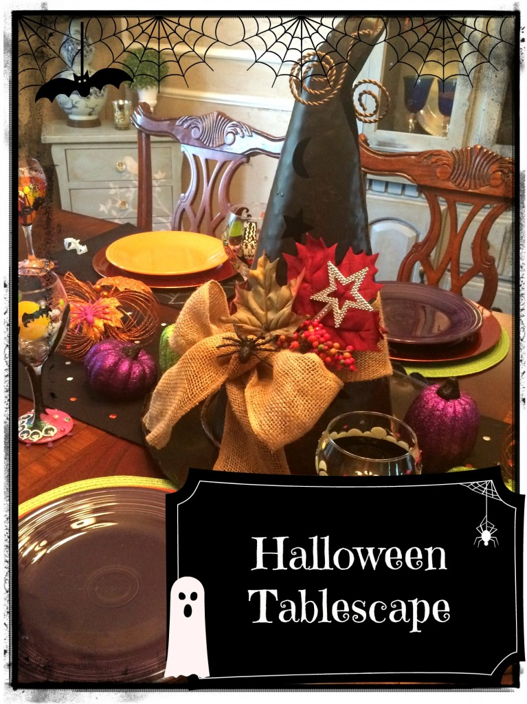 halloween table 14 label